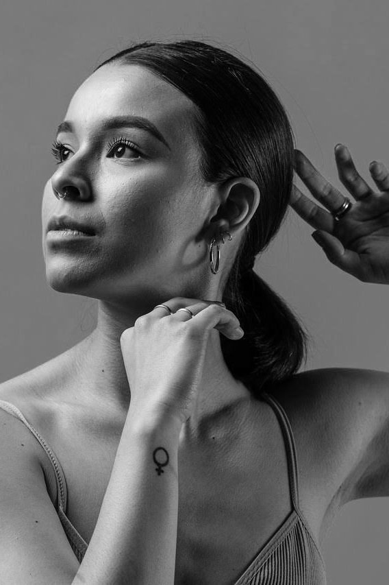 Devin Munoz - Devin Muñoz (dancer), Seattle based dancer, received her early dance training in Seattle where she graduated from Pacific Northwest Ballet school student division. In May 2017, Devin graduated Magna Cum Laude from Cornish College of the Arts with a BFA in Dance. She has performed in pieces such as The Bridge Project 2019 by Beth Terwilleger, Tint Dance Festival 2019 with Alicia Mullikin and PRICEArts, as well as guest performances with AU Collective. When Devin isn't dancing she spends her time creating dance films and collaborating with local dancers through photo series.