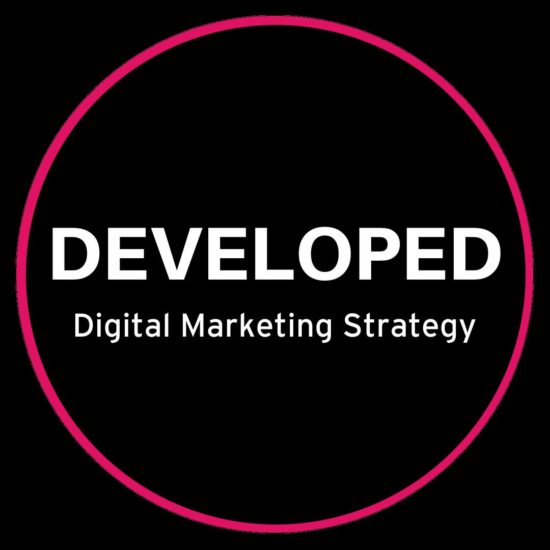 Copy of Developed Digital Marketing Strategy