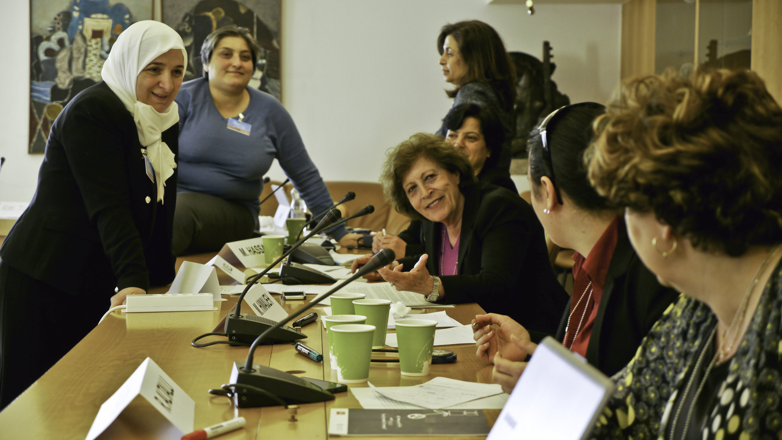 Syrian Women at the UN Peace Talks - PassBlue.com, May 2016