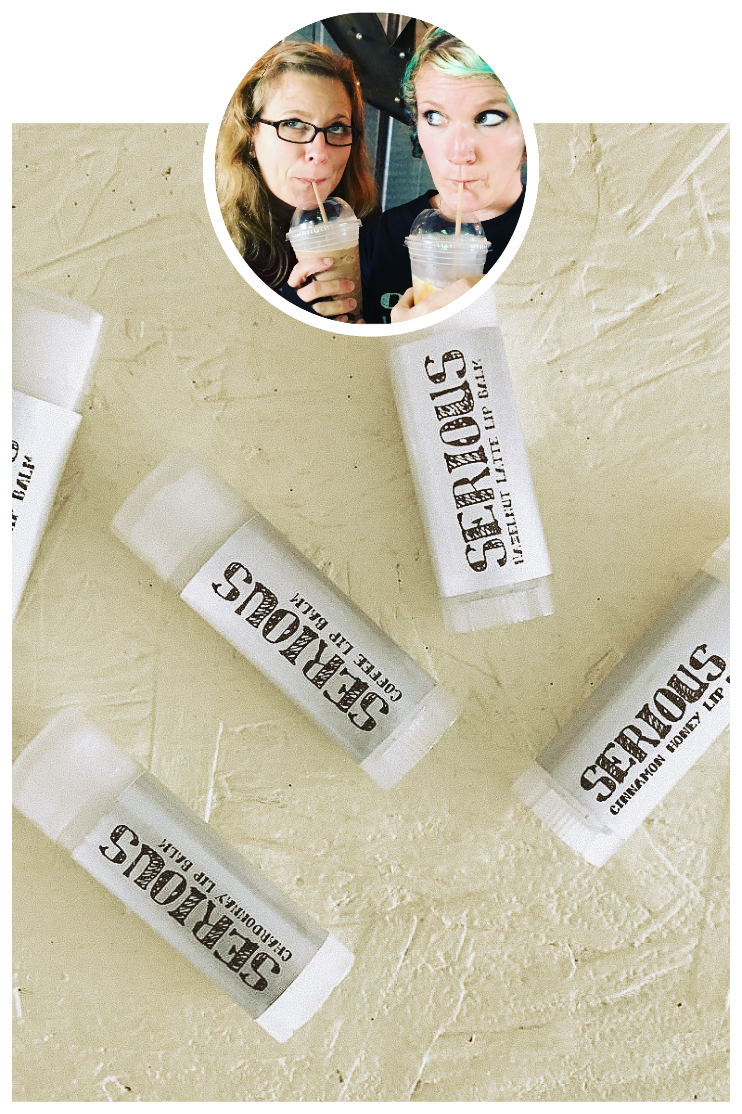 Serious Lip Balm by Luckey and Khara