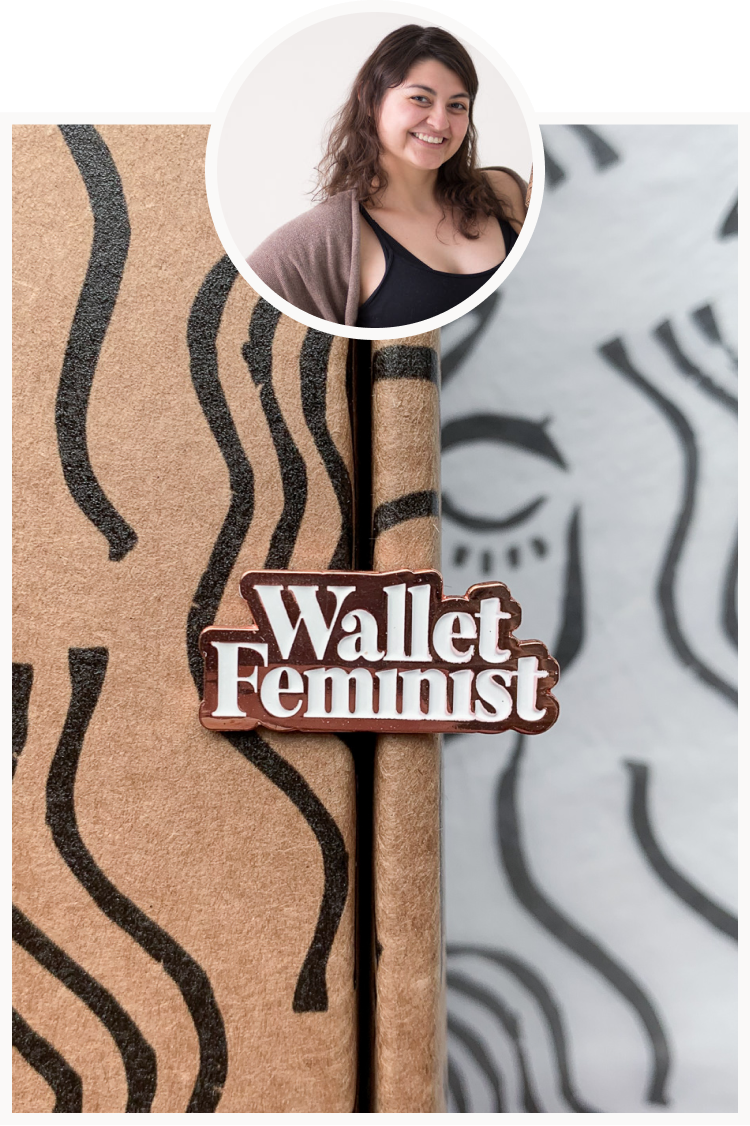 Wallet Feminist Pin.png