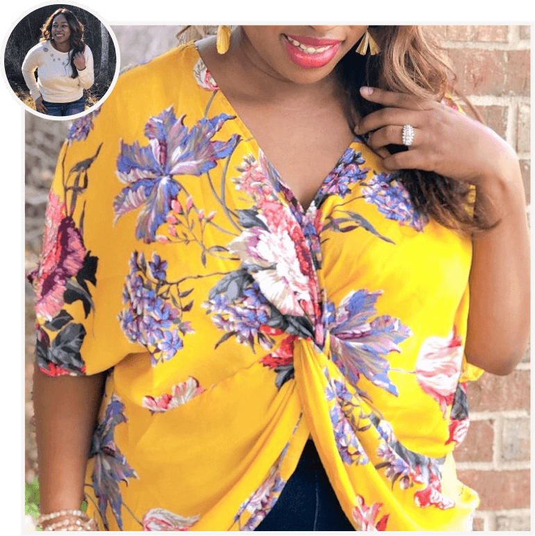 Floral Twist Front Tie Top from B. Effortless by Britney.png