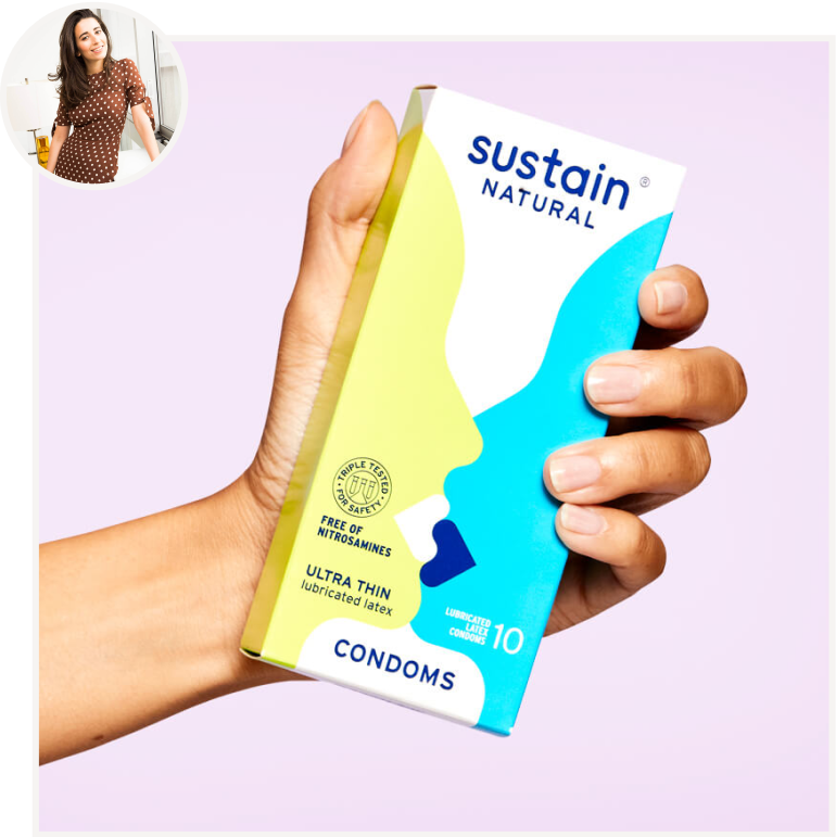 Ultra Thin Condoms from Sustain by Meikia