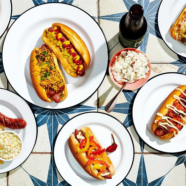 Today's the big day! You've carefully planned out your menu and your guests are on their way.  You've got the grill going and you're PUMPED! Just remember, [steamed/poached] sausages always do better on the open flame!  Be safe and have a happy 4th of July!  From our family to yours... . . . #hotdog #sausage #smokey #BBQ #grill #craft #meat #meatporn #frombutchherswithlove #mmfa #momandmom #chefsfeed #feedfeed #food52 #hotdoggity #heritage #grassfed #local #sausageparty #infatuation #seriouseats #foodstagram #forkfeed #tastingtable #foodiegram #huffposttaste #foodbeast #buzzfeed #foodandwine #independenceday