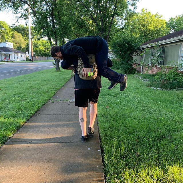 Buddy Carry #ruckclubcallout ✔️ @goruck #ruckup #traindirtyrucknasty