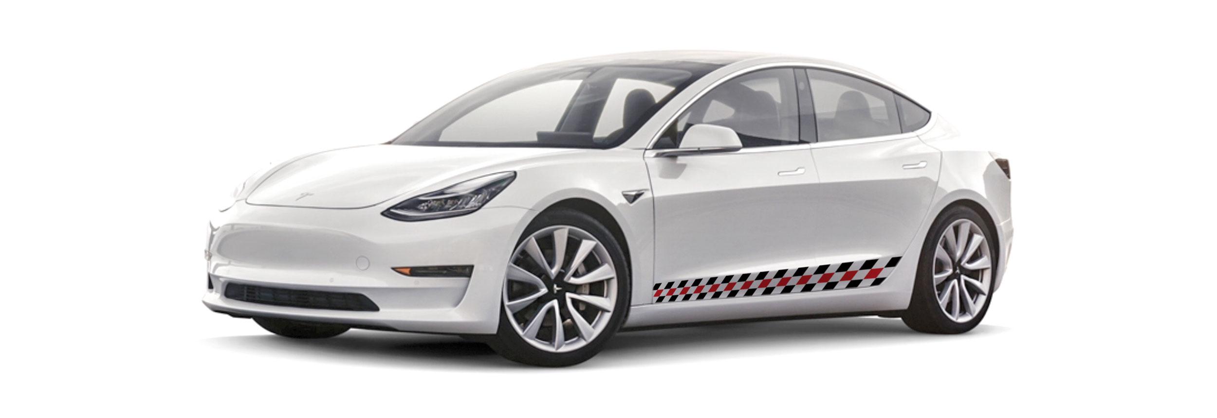 Cooper Coach All Electric Ride Tesla 3