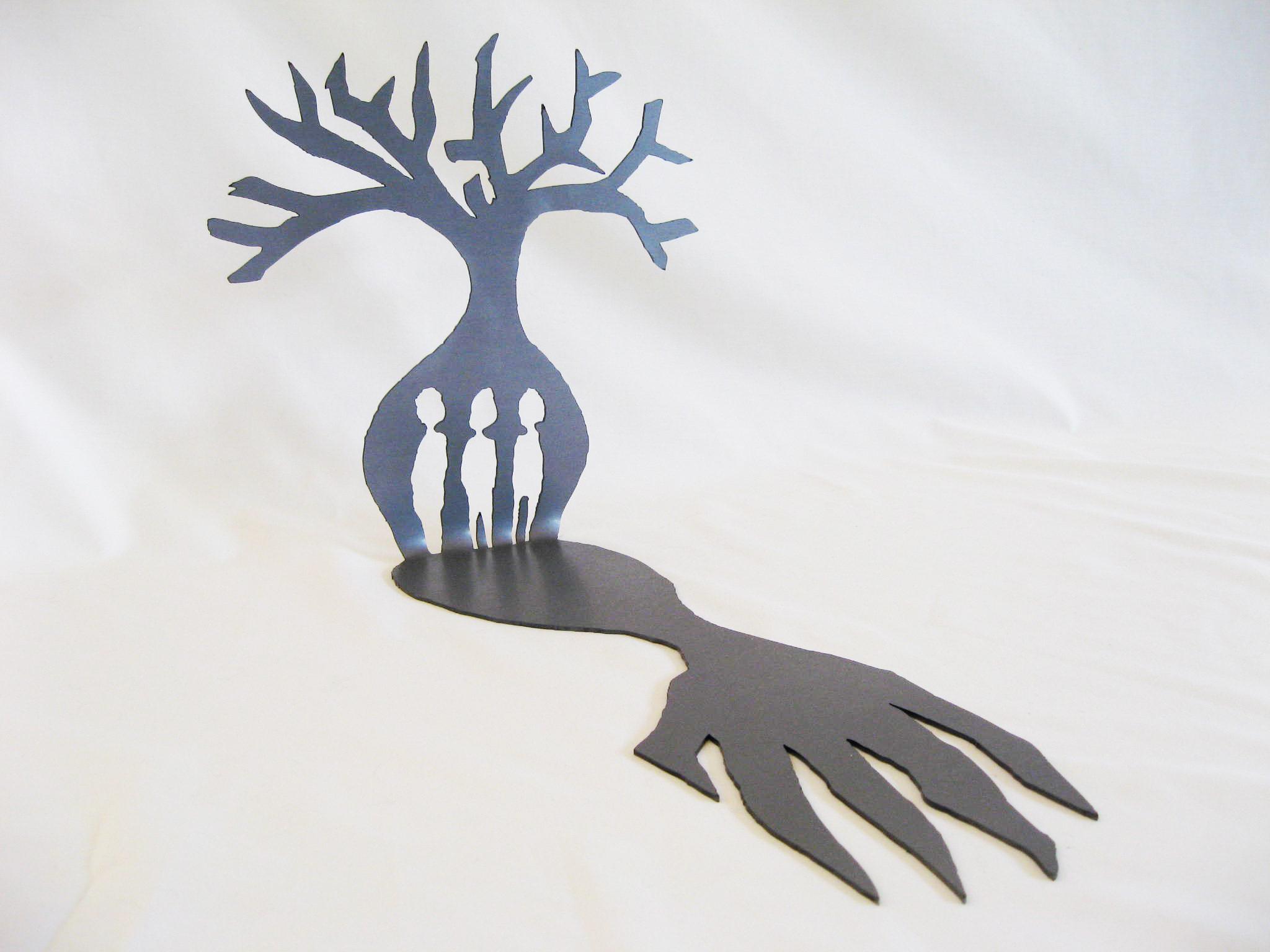 Hand of Truth  (2012). Mild Steel. 45cm x 25cm x 25 cm. Edition of 5.
