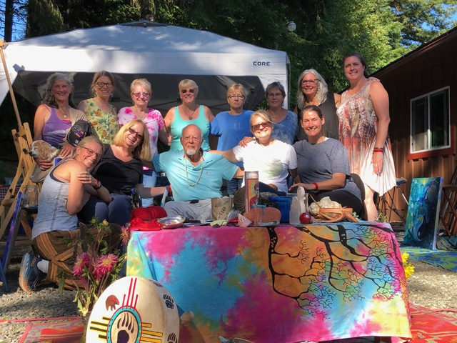 Workshops - Gypsy Heart Studio offers 1-3 day themed workshops.All art materials are provided and no prior painting experience is necessary - only the willingness and desire to explore the inner language and expression of your muse or inner artist.