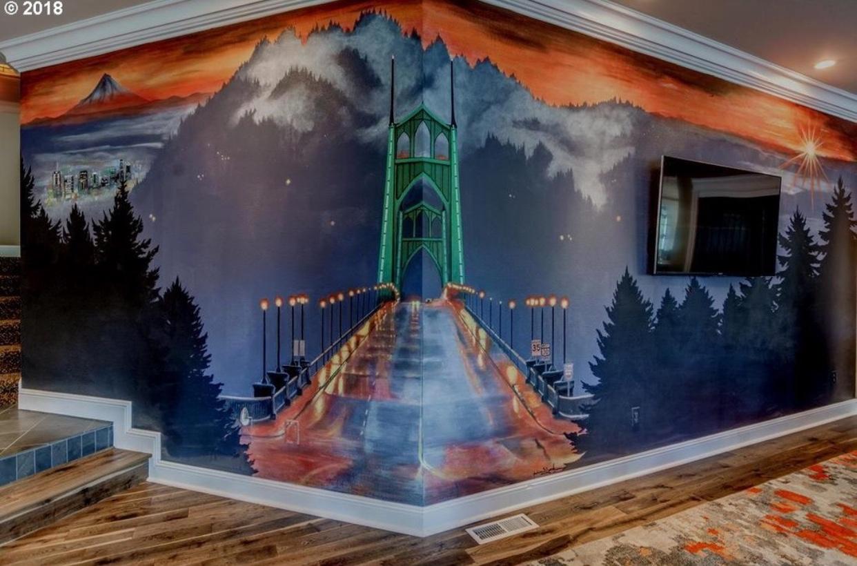 Saint John's Bridge Mural