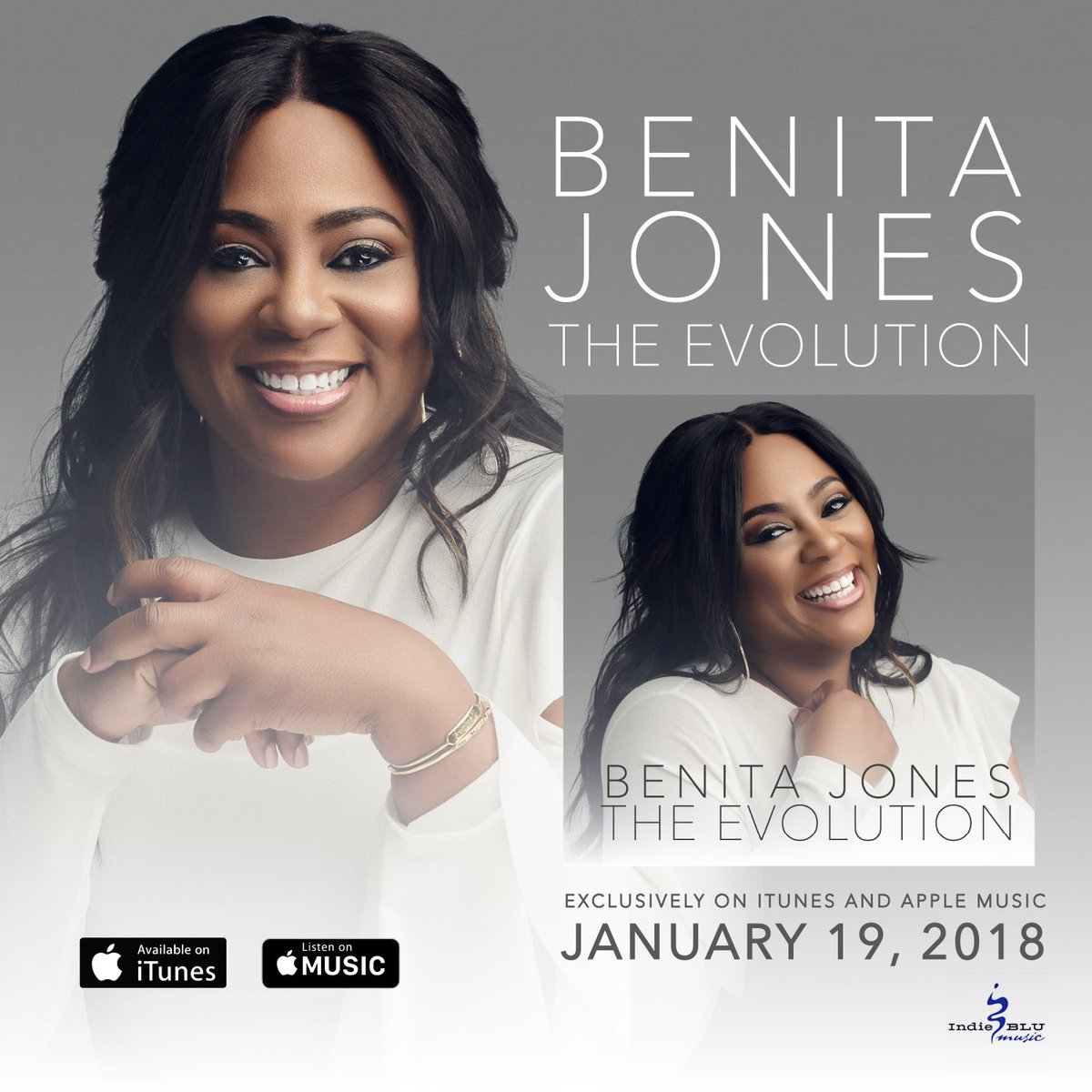 benita jones, 2018 [ indie blu music ]