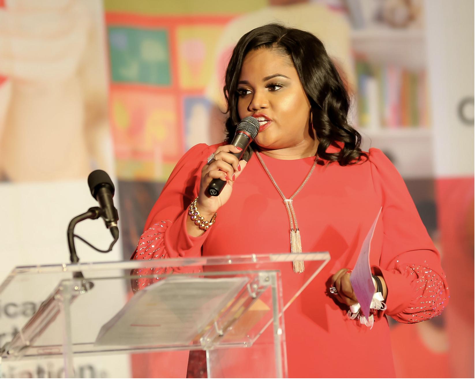 Speaking Motivational Keynote Speaker Amelia Mimi Brown