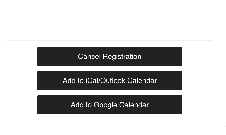 YES! - You sure can. After you submitted your registration, you should have received an confirmation email along with your class schedule. At the end of the email you should see this (image on the left).Simply click on