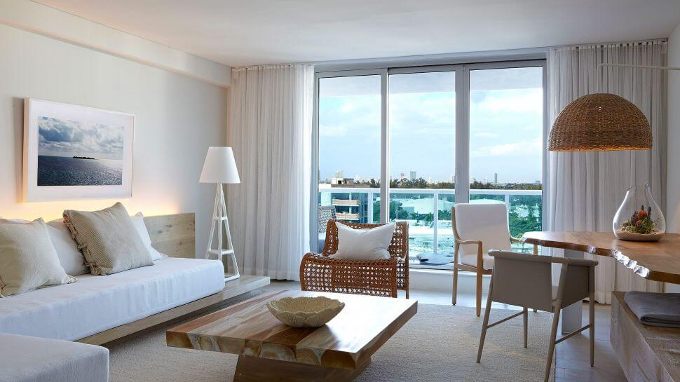 1 Hotel, South Beach, Florida<strong>Custom curated photos, printed on wood panels, shadowbox frame</strong>