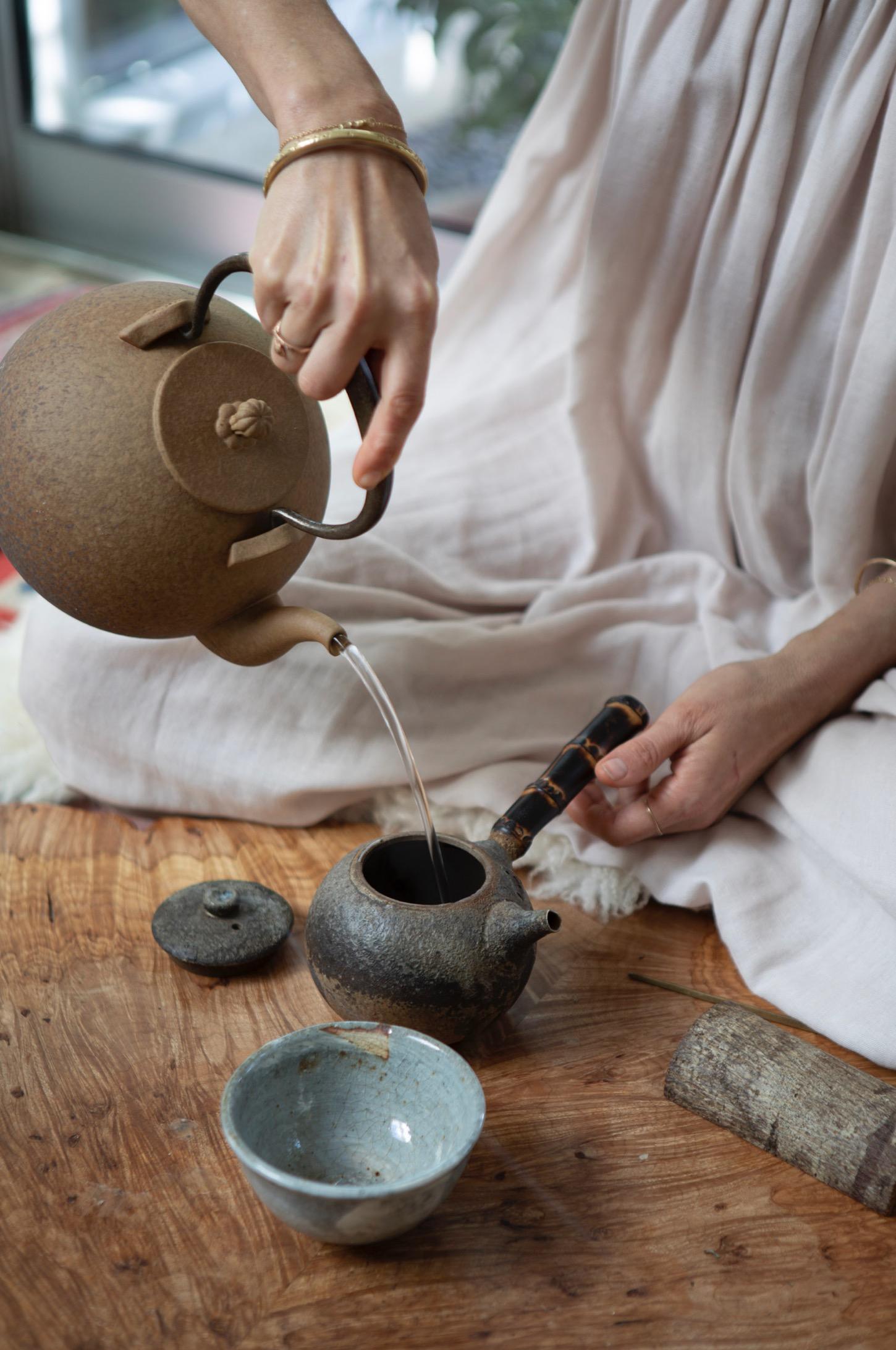 Tea Sit With Shiva Rose