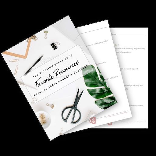The E-Design Experience Resource Guide