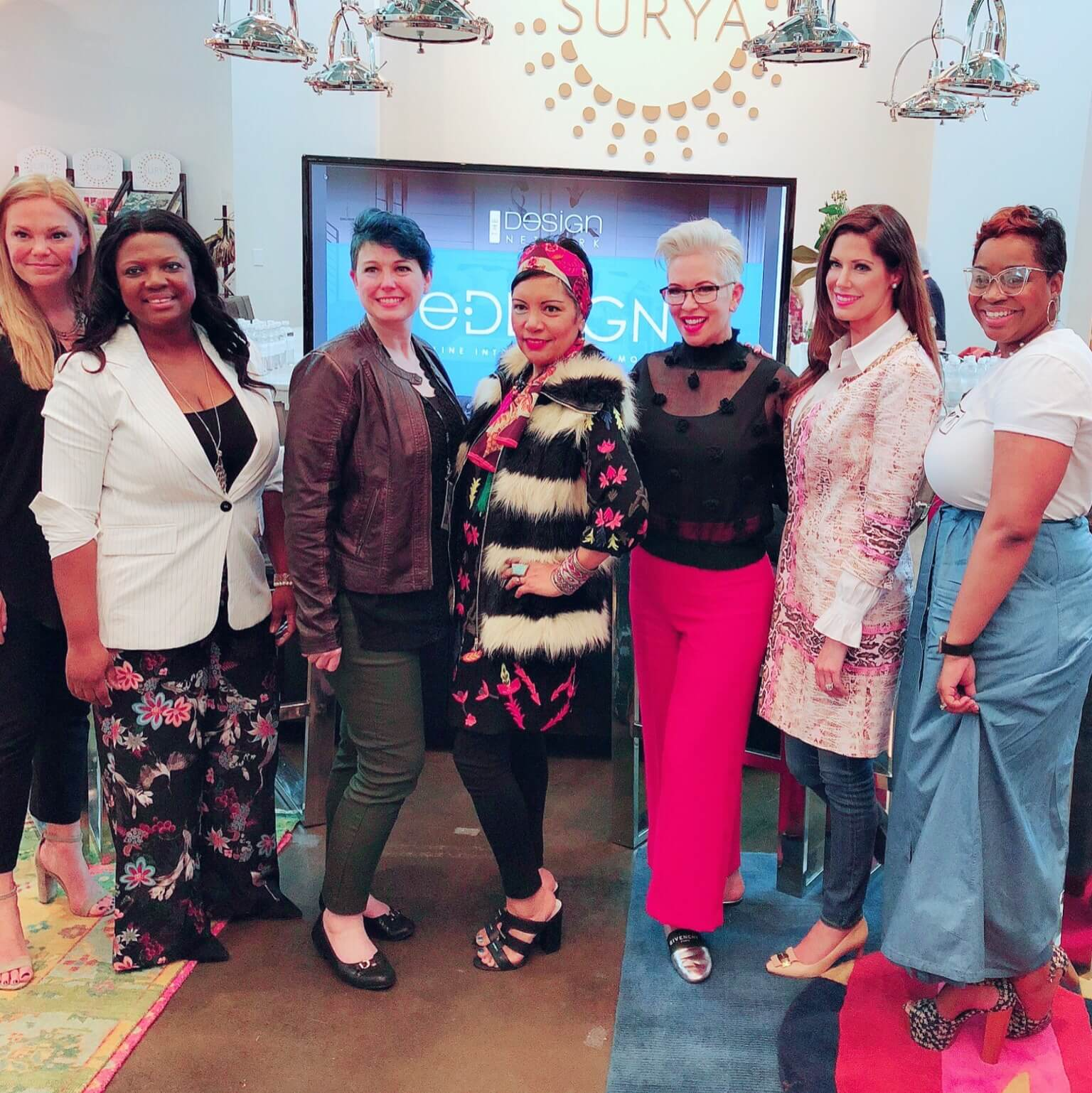(left to right): Sandra Funk, Veronica Solomon, Dixie Willard, Rachel Moriarty, Kelli Ellis, Shayla Copas, Alberthe Buabeng