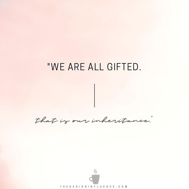 Never doubt your gifts... your gifts are not the problem. You've been given an ability that many others can only dare to have. ⠀ ⠀ ⠀ Identify your gifts. Lean into them. Own them. Share them with the world. ⠀ ⠀ ⠀ Whatever you're lacking -- time, money, processes -- can be acquired and learned. But your gifts... ⠀ ⠀ ⠀ That's where the magic happens.⠀ ⠀ ⠀ Never forget what your magic is ✨⠀ ⠀ ⠀ ⠀ ⠀ ⠀ ⠀ ⠀ ⠀ ⠀ _⠀ _⠀ _⠀ ⠀ ⠀ #edesign ⠀ #edesigner ⠀ #interiordesigncommunity ⠀ #interiordesignprocesses ⠀ #awelldesignedbusiness ⠀ #businessofdesign ⠀ #savvybusinessowner ⠀ #theedesignexperience ⠀ #thedesigninfluence ⠀ #businessofhome ⠀ #communityovercompetition ⠀