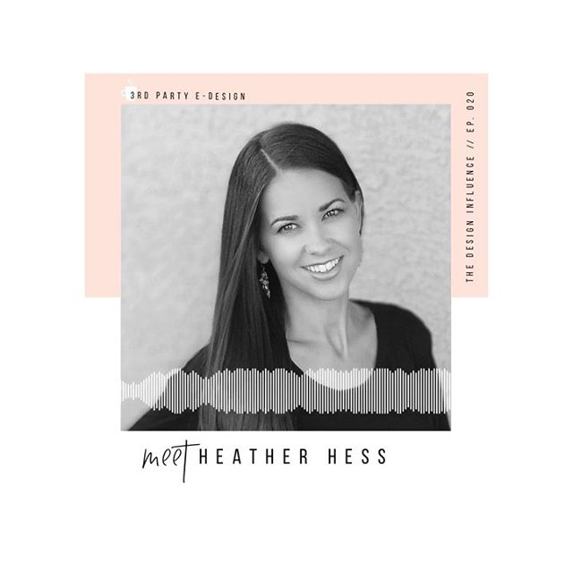 "It's no secret that I love chatting with fellow e-designers, but it's not something I've ever done on the show, so today's episode — the last guest episode of the season — is with my girl @heatherhessdesigns ✨⠀⠀ ⠀⠀ ⠀⠀ Heather's passion for design started in her own home, and #edesign became her jam because it provides her clients with an affordable interior design experience while also giving her the opportunity to stay home with her kids. ⠀⠀ ⠀⠀ ⠀⠀ Like a true boss, Heather has also leveraged her talents to be the Editorial Director for @swatchpop. ⠀⠀ ⠀⠀ ⠀⠀ So as you can imagine we're talking about all things e-design — from securing your own clients to working on a platform like SwatchPop — but we get into a few other fun topics like batching and blogging…aka some of our fav things! ⠀⠀ ⠀⠀ ⠀⠀ Follow the link in the bio or search ""The Design Influence"" on your favorite podcast platform to tune into our conversation.⠀⠀ ⠀⠀ ⠀⠀ ⠀⠀ ⠀⠀ ⠀⠀ ⠀⠀ ⠀⠀ ⠀⠀ _⠀⠀ _⠀⠀ _⠀⠀ ⠀⠀ ⠀⠀ #edesign ⠀⠀ #edesigner ⠀⠀ #interiordesigncommunity ⠀⠀ #interiordesignprocesses ⠀⠀ #podcastlife⠀⠀ #podcastfordesigners⠀⠀ #newpodcast⠀⠀ #awelldesignedbusiness ⠀⠀ #businessofdesign ⠀⠀ #savvybusinessowner ⠀⠀ #theedesignexperience ⠀⠀ #thedesigninfluence ⠀⠀ #businessofhome ⠀⠀ #sodomino #knowyourinfluence⠀⠀ #communityovercompetition ⠀⠀"
