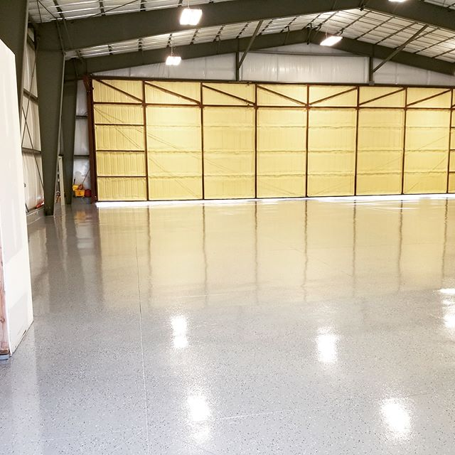 We make cement look gooood. Garage floor coatings from #ottpaintingut #garagegoals