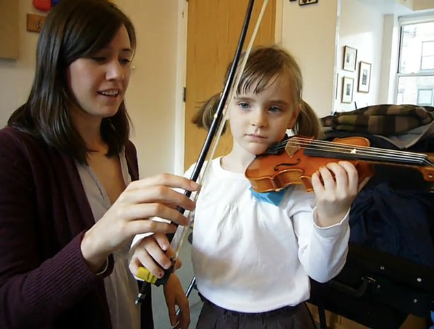 Currently accepting violin students starting at age 5 - Morganne has ten years of experience teaching violin in a one-on-one setting to students of all ages. She holds teacher certification in Suzuki Books 1 - 10, training in the Dalcroze and Orff approaches, and mentored with Dr. Ann Setzer of the Juilliard pre-college. Morganne is currently accepting students into her studio at the Indianapolis Suzuki Academy.