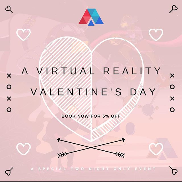 Celebrate Valentine's Day in Virtual Reality! Bring in your friends or significant other to AnthroPod for this 2 night only event!  Book now - link in bio.  #ValentinesDay #AnthroPod #anthropodvr #tiltbrush #virtualreality #chicago #htc #htcvive #oculusrift #oculus #oculusgo #vr #arcade #gamers#educators #AR #googlevr #daydreamvr #windowsmr #musicgames #beatsaber #designer #creative #education#learning #anthropodvr #future #depaul #lincolnpark#lincolnparkzoo #vroomvroom
