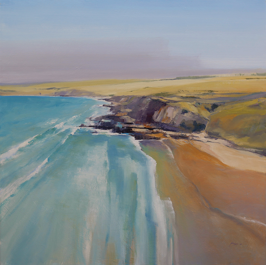 Petrel Cove   112 x 112cms  oil on canvas         SOLD