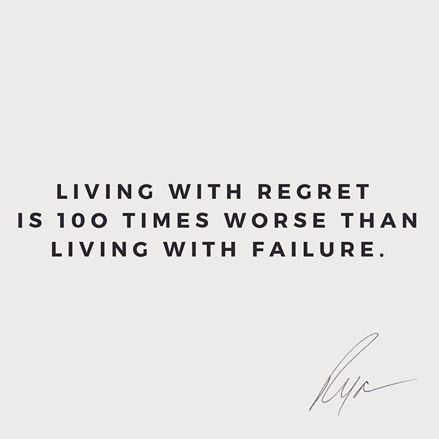 """The words """"what if"""" will stop you if you let it.  - What if I fail? What if others laugh? What if I lose it all? - Turn """"what if"""" around. What if I succeed? What if I finally find fulfillment and satisfaction? What if God shows up? - Living with regret is 💯 times worse than living with failure.  - Stop letting """"what if"""" scare you. Take some risks. Sometimes you'll succeed, sometimes you'll learn. you can do it! 🙌🏻 - #whatif #regret #failure #mindset #tuesdaytalk #wisdom"""