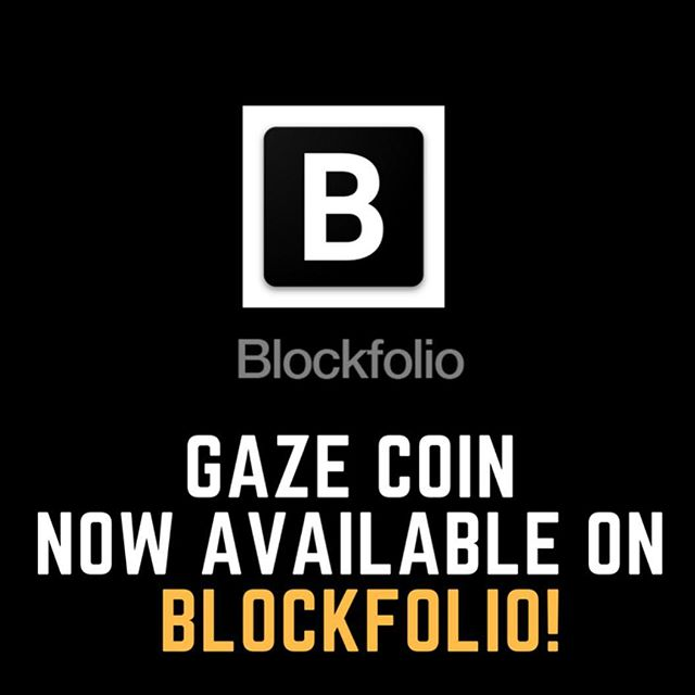 We're now available on @blockfolio! Track GZE in your #crypto portfolio easily on Blockfolio now!🙌🏽😄🔥💸 . . . . . #crypto #cryptocurrency #bitcoin #cryptomillionaire #cryptoinvestor #blockchain #ico #token #btc #eth #ethereum #networth #selfmade #fintech #hodl #digitalcurrency #litecoin #ripple #steem #steemit #coinbase #bittrex #token #gazecoin #blockfolio