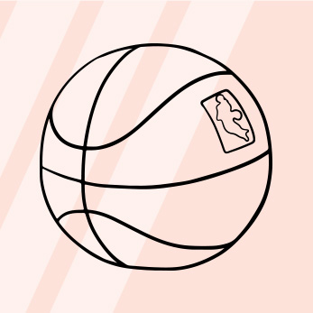 The GIST Guide to Basketball - Basketball is made up of four quarters lasting 12 minutes each. Five players on each team are on the court at the same time. The point of the game is to shoot a basketball in a hoop to get the most baskets which = the most points. A basket counts as either two or three points, depending on how far the shooter was from the basket when she took the shot. Unlike any other sport, basketball brings out the rich and famous which makes playing #spotthecelebrity so fun. You can always see the hottest celebs (let's be honest we really only care about Jay-Z and Beyonce) sitting courtside...read more here