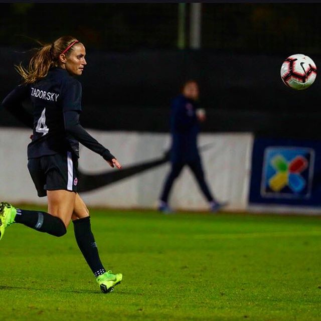 Shelina Zadorsky - Canadian soccer defender, Shelina Zadorsky won a bronze medal for Canada at the Rio Olympics in 2016 and plays full-time in the National Women's Soccer League (NWSL) for the Orlando Pride.