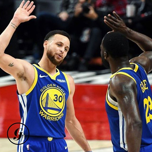 Oops they did it again.🎶 • The Golden State Warriors are off to their 5th straight NBA Finals after sweeping the Portland Trail Blazers following a 119-117 overtime win last night.🏀 • 5 straight Western Conference titles...and this sweep came without star Kevin Durant. Can you say dynasty?!🤯 #thegist