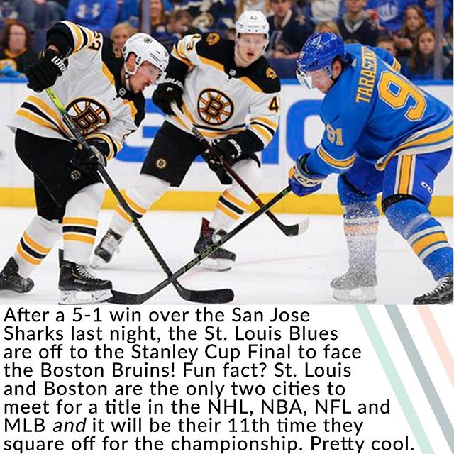 The stage is set! Who ya got?! 🏒 • More on this, and so much more, in tomorrow's GIST newsletter. Not subscribed?! what are you waiting for? Subscribe for free now at the #linkinbio.💌 • P.S. GIST tip: for whatever reason the Stanley Cup Final is a Final without an 's' on the end whereas in the NBA it's NBA Finals with the 's'. So keep an eye on that pronunciation!👀