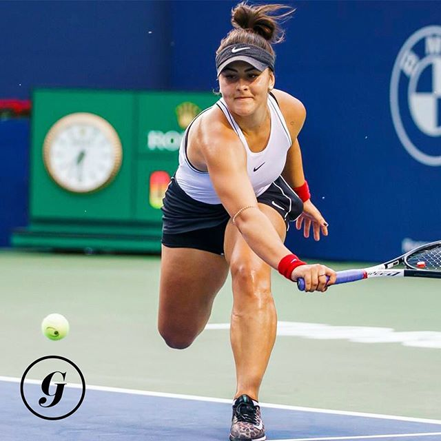 The tennis goddesses have answered our prayers.🙌 • Our Canadian superstar @biancaandreescu_ is squaring off against @serenawilliams tomorrow in the Rogers Cup Final. We are SO EXCITED we literally can't even.🤩 • But the big question is...who ya got!?🎾 #thegist