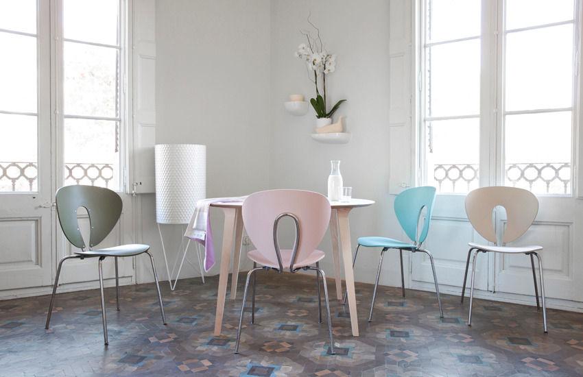 stua chairs color pastel