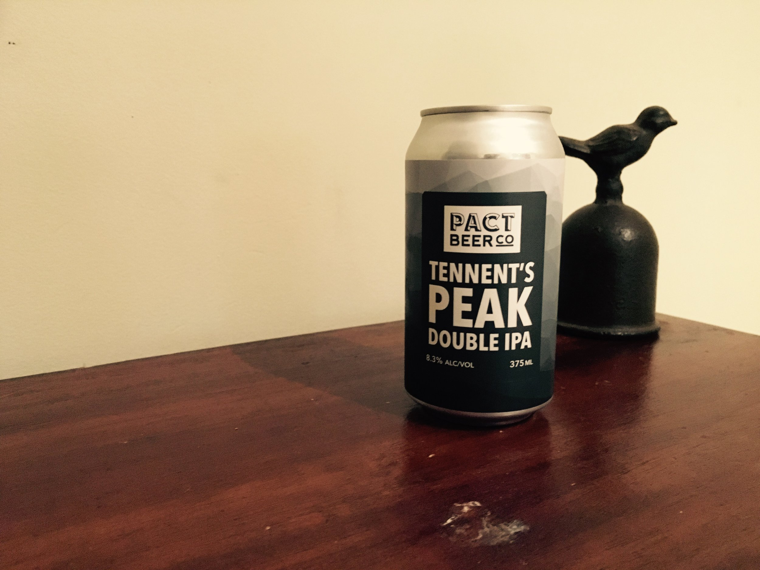 Pact Beer Co. Tennent's Peak Double IPA