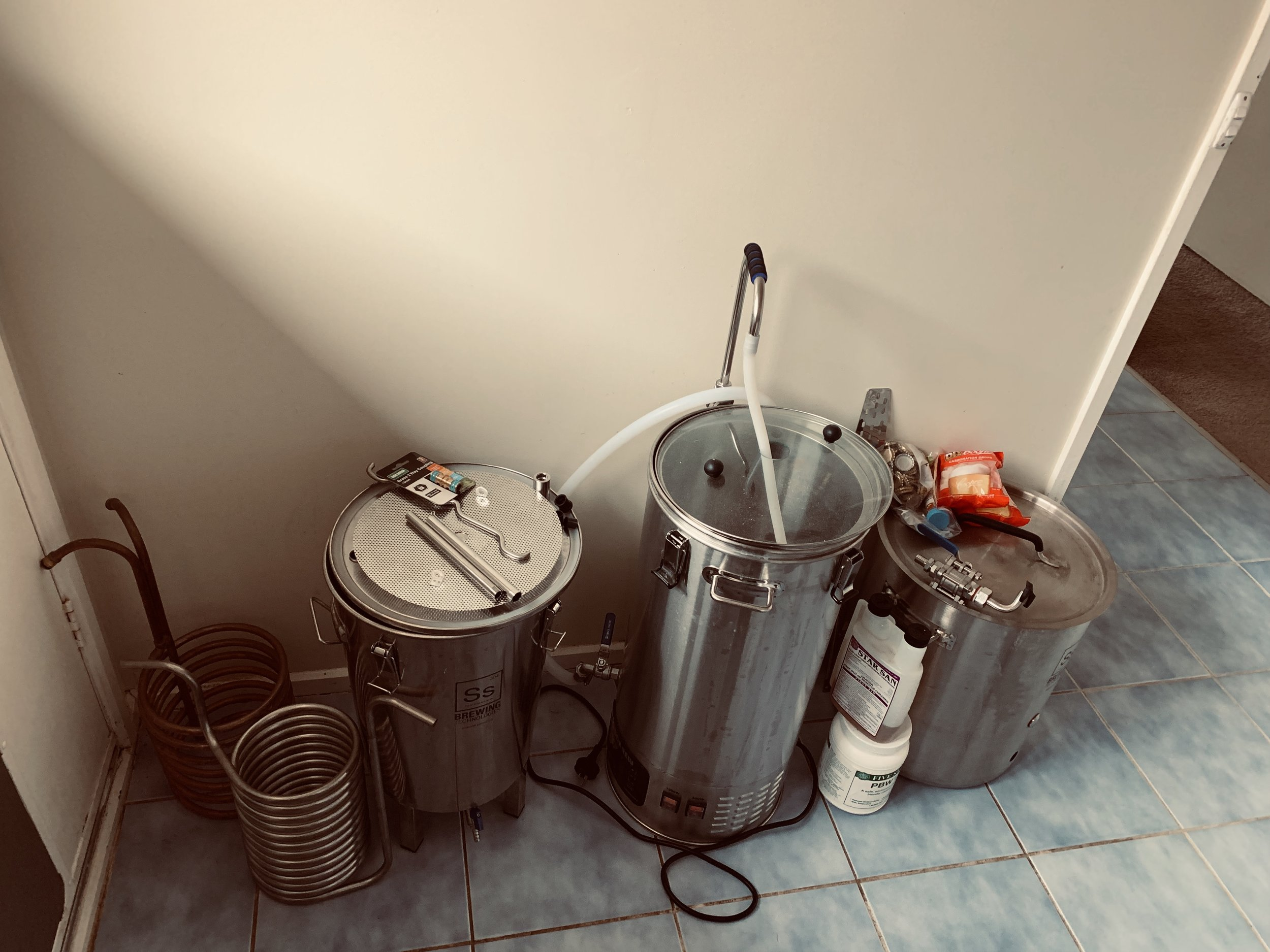Brewing equipment - Including Robobrew and SS BrewTech Fermenter