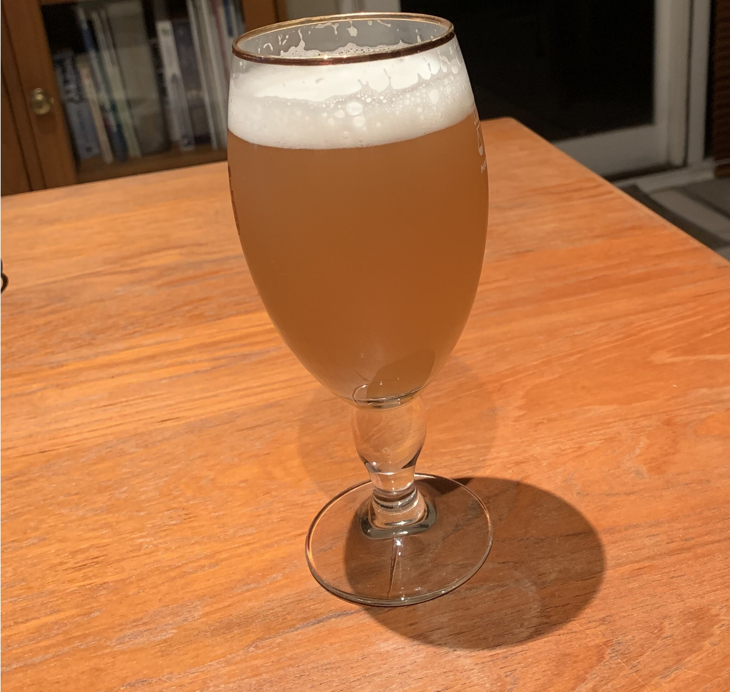 The final product - Our take on a Spring beer