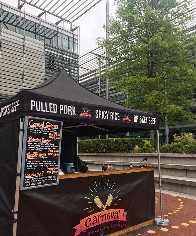 Were @chiswickpark today. Get yourself down for some epic much. Cajun Pork & Smokey BBQ Brisket in various stylings to get your bank holiday weekend started with a bang! 💥 #pulledpork #brisket #cajunfood #spicyrice #carnevallondon
