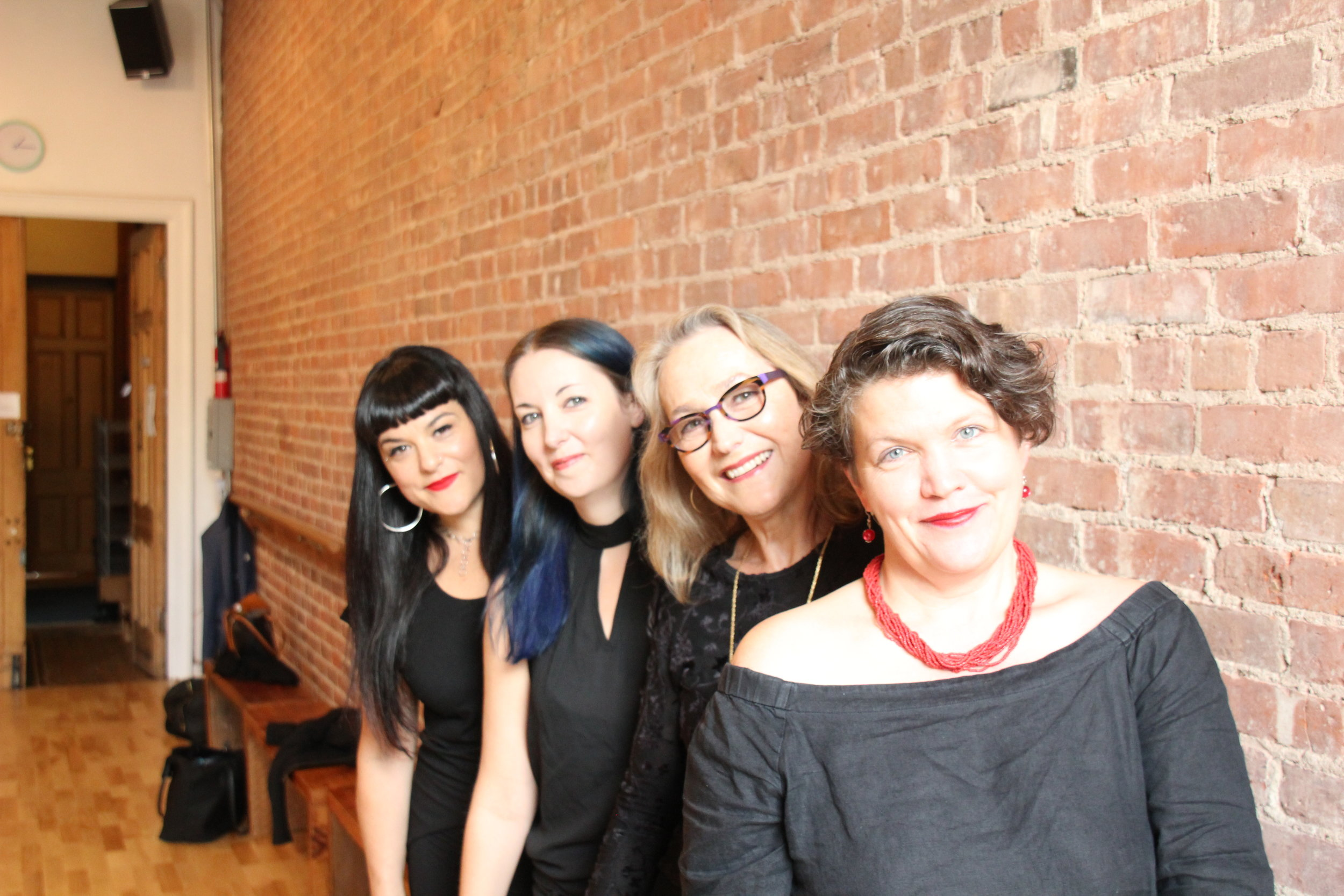 L->R: Beth Morrison, Jecca Barry, Kim Whitener, Kristin Marting Credit: Raul Zbengheci