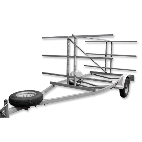 *trailers only available with minimum 4 vessel rental*
