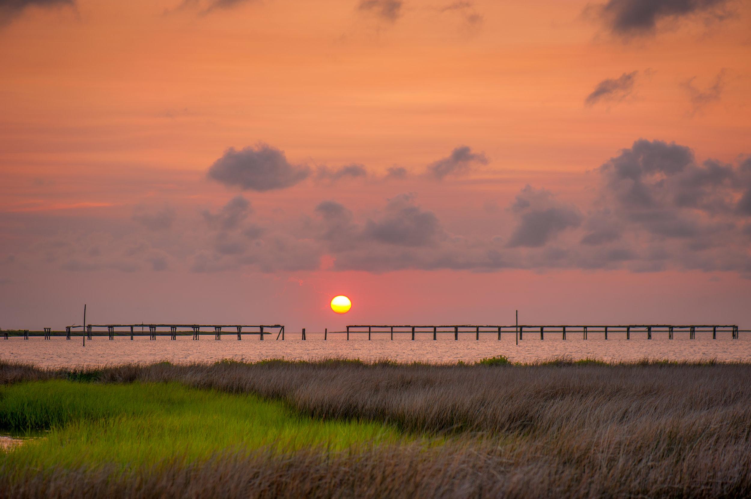 Sunset on the Sound- Coastal Carolina