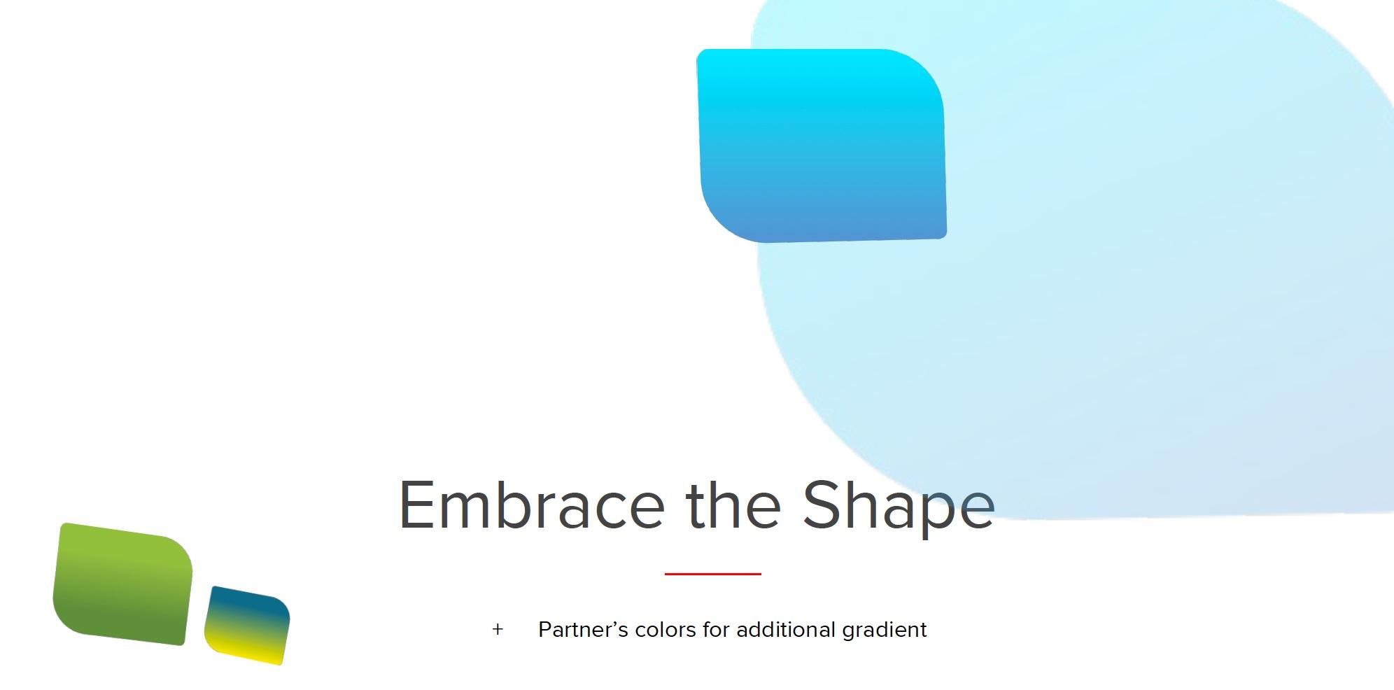 Embrace the shapre