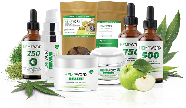 Hi, I'm a HempWorx affiliate! - Pure. Potent. Effective.