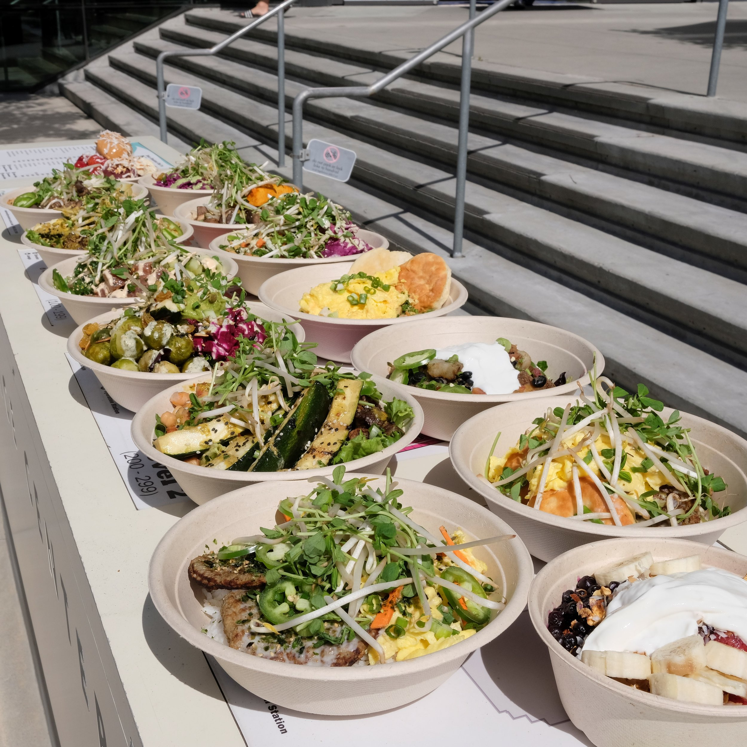 Use our Build Your Own Bowl menu as a starting place; the combinations are endless!