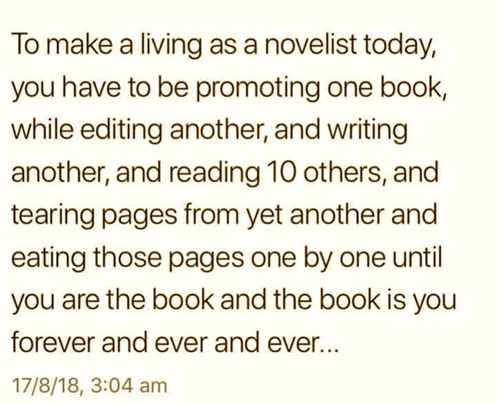- For fun, here's what another author learned about writing: