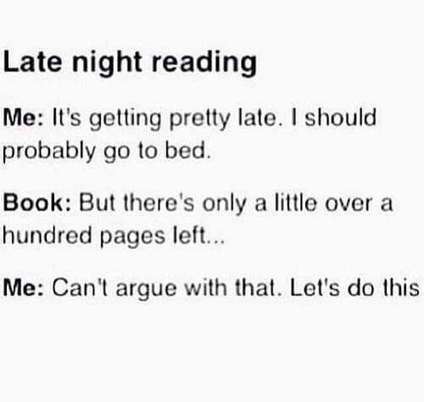 Can't fault the logic! 😉 😛 ⠀ .⠀ .⠀ .⠀ .⠀ #AmReading #Reading #Books #lol #BookLovers