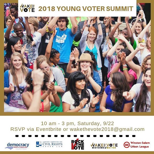 Join us this Saturday, 09/22 for our first Youth Voter Summit! We have a number of panels and speakers who will be talking about how to increase voter participation on YOUR campus! Participation is free; just register through our eventbrite(🔗in bio!) Trust us, You won't want to miss this!