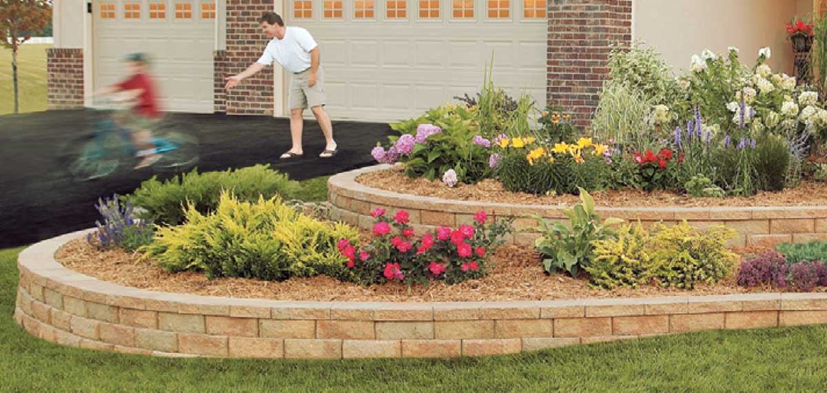 Aspen Stone <br> Small Walls and Flower Beds