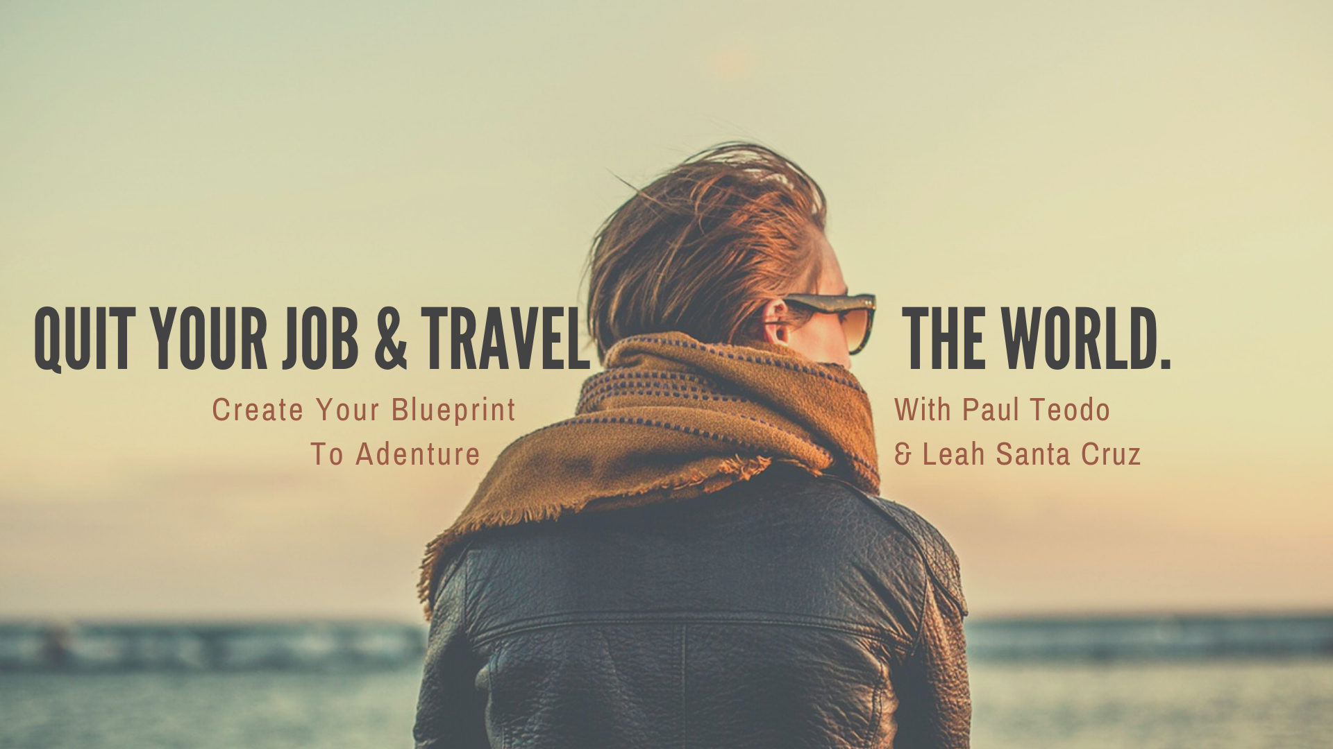 Quit Your Job & Travel the World - Coming in January @ The Yoga Barn, BaliDetails to follow soon