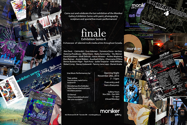 Moniker Gallery Finale - Exhibition series 6
